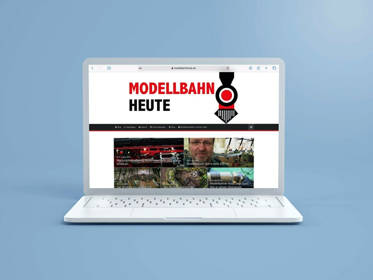 Homepage Modellbahnheute.de